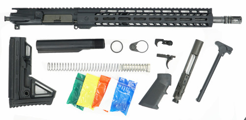 "Ghost Firearms Black Anodized 16"" 9mm Rifle Build Kit"
