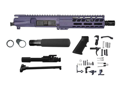 """Ghost Fireams 7.5"""" .300 BLACKOUT WITH 7"""" M-LOK PISTOL KIT - TACTICAL GRAPE"""