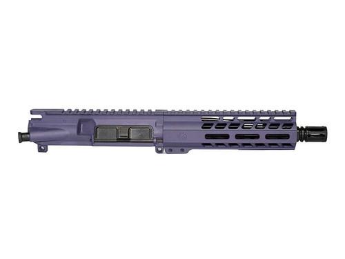 "7.5"" 300 Blackout AR-15 Upper Receiver - Purple"