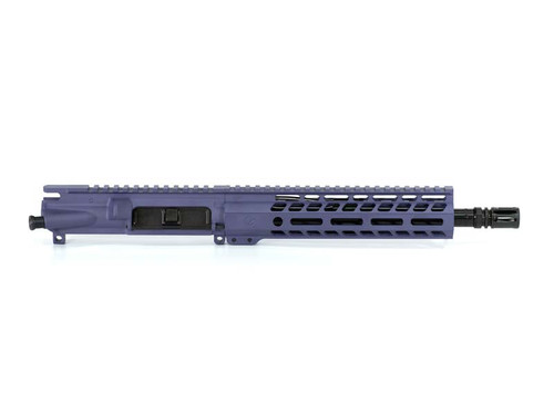 Purple AR15 Pistol Upper Receiver Chambered in .300 Blackout