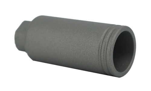 GHOST FIREARMS 1/2X28 FLASH CAN - TUNGSTEN GRAY