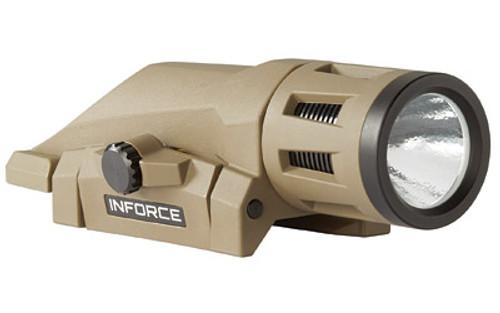 INFORCE WEAPON MOUNTED LIGHT/WHITE  GEN2 - FDE