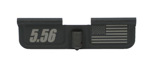 AR15 Laser Engraved Dust Cover - American Flag