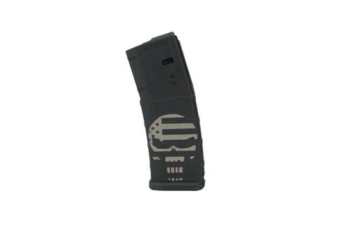 SG Arms Laser Engraved AR15 30 Round Magazine