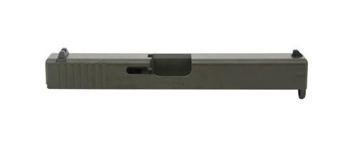 Magpul OD Green Glock 17 Slide - Stripped
