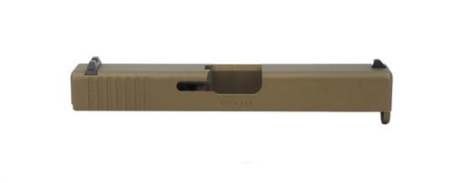 Glock 19 Compact Slide - Burnt Bronze