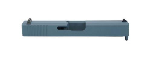 Glock 19 Compact Slide - Blue Titanium