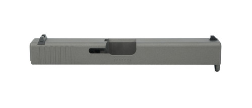 Tungsten Gray Glock 19 Slide with Factory Sights