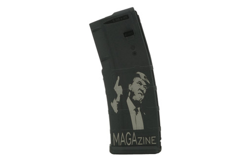 SG ARMS LASER ENGRAVED 30 RD MAGPUL PMAG - MAGAzine