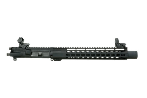 """ALWAYS ARMED COMPLETE 10.5"""" 9MM FLASH CAN UPPER RECEIVER"""