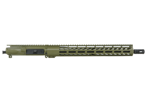 "ALWAYS ARMED 16"" 5.56 NATO UPPER RECEIVER - BAZOOKA GREEN"