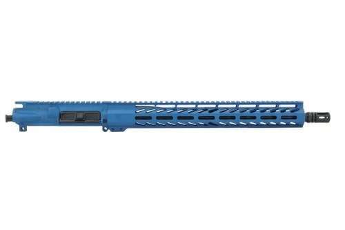 "ALWAYS ARMED 16"" 5.56 NATO UPPER RECEIVER - RIDGEWAY BLUE"