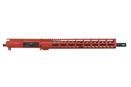 """ALWAYS ARMED 16"""" 5.56 NATO UPPER RECEIVER - SMITH & WESSON RED"""