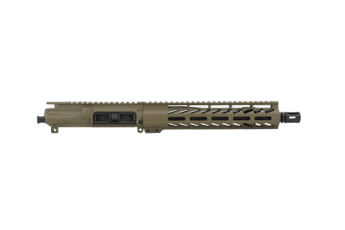 """ALWAYS ARMED 10.5"""" 5.56 NATO UPPER RECEIVER - MAGPUL FDE"""