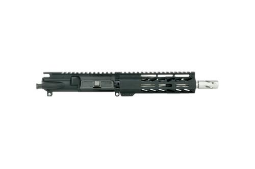 "ALWAYS ARMED 7.5"" 5.56 NATO STAINLESS STEEL UPPER RECEIVER - BLACK"