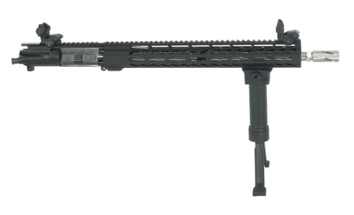 "ALWAYS ARMED 16"" 5.56 NATO UPPER RECEIVER WITH SS 1:9 BARREL, SIGHTS & BI-POD GRIP"