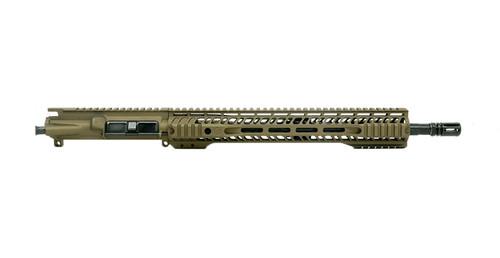 """Grid Defense 16"""" 5.56 Quad Rail Upper Receiver - Burnt Bronze"""
