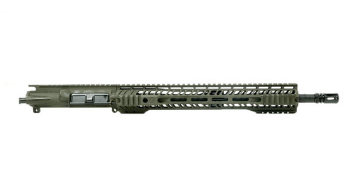 "Grid Defense 16"" 5.56 Quad Rail Upper Receiver - Magpul OD Green"