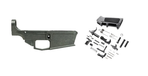 AR10 80% LOWER RECEIVER AND LOWER PARTS KIT