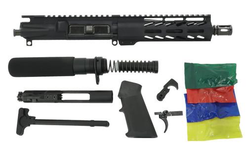 """ALWAYS ARMED 7.5"""" 5.56 NATO PISTOL KIT - BLACK ANODIZED"""