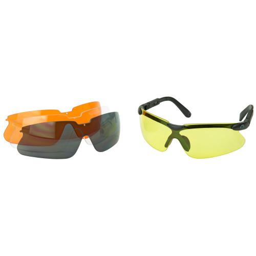 Walker's Impact Resistant Interchangeable Sport Glasses Kit