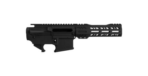 Hard Coat Black Anodized Finish   AR15 Pistol Builder Set