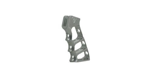 Tactical Dynamics Skeleton Grip - Raw Aluminum