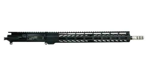 AR15 Rifle Upper Receiver with Stainless Steel Muzzle Device