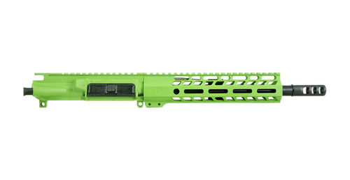 """10.5"""" UPPER .300 BLACKOUT WITH AXE BRAKE - ZOMBIE GREEN"""