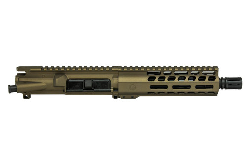 Burnt Bronze 7.5 556 AR15 Upper Receiver by Ghost Firearms