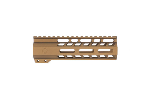 "Burnt Bronze 7"" Free Floating AR15/M4 Hand Guard"