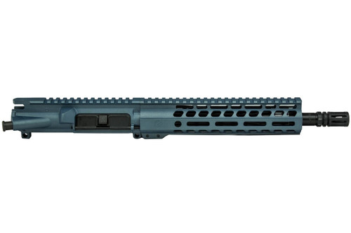 "Blue Titanium Cerakoted 10.5"" .300 Blackout AR15 Upper Receiver by Ghost Firearms"