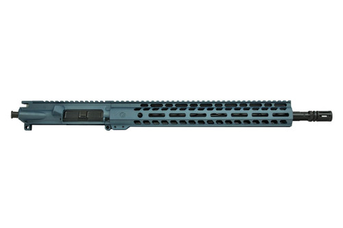 "Ghost Firearms 16"" .300 Blackout Upper Receiver in Blue Titanium Cerakote"