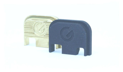 Ghost Firearms Glock Slide Cover Plate - Black Anodized - G