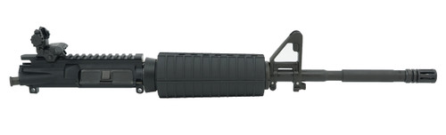 """Ghost Firearms 16"""" 5.56 Nato Upper Receiver with Front Post Sight and Rear Flip Sight"""