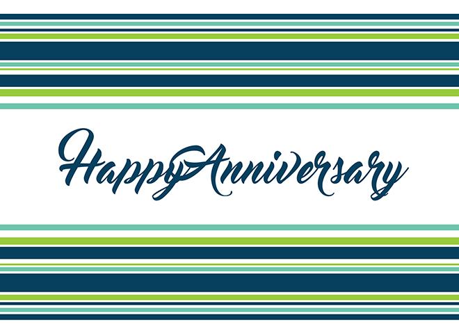 A1602 - Striped Anniversary