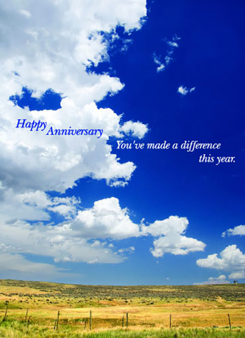 A7001 - Blue Skies Anniversary