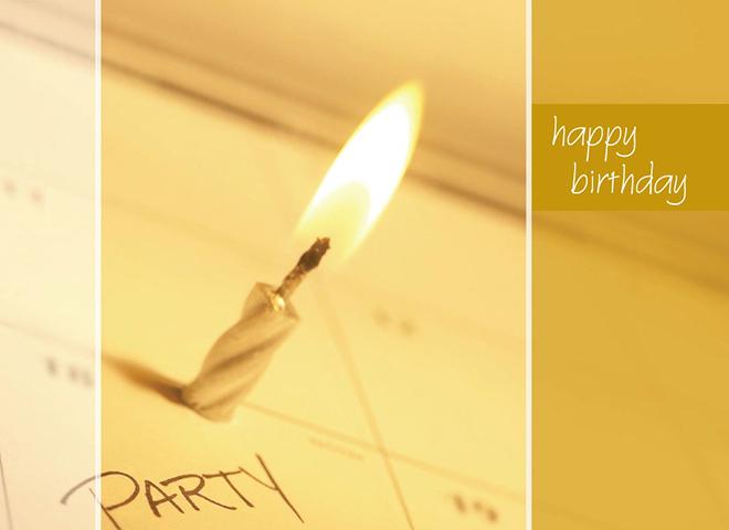 B7002 - Candle on Calendar