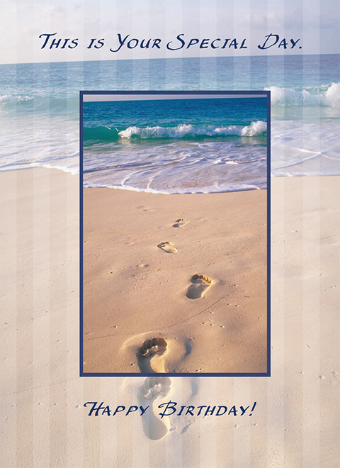 B7005 - Footprints in the Sand