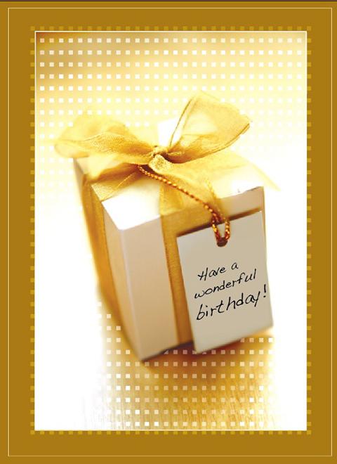B9015 - Golden Present