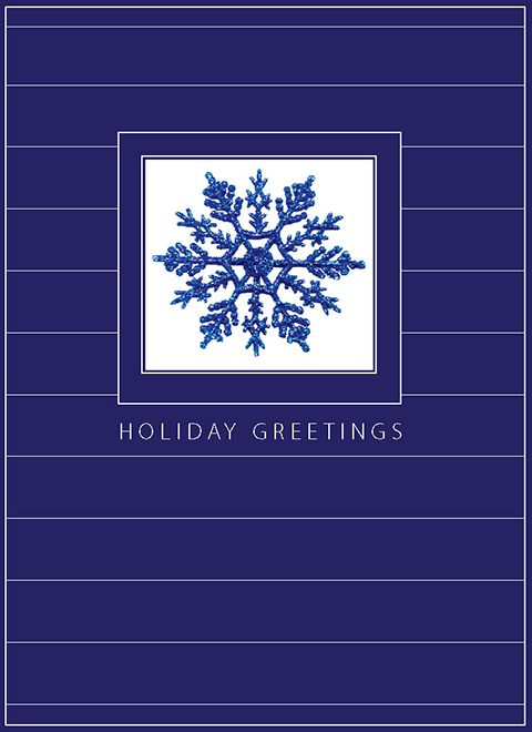 H1203 - Blue Snowflake