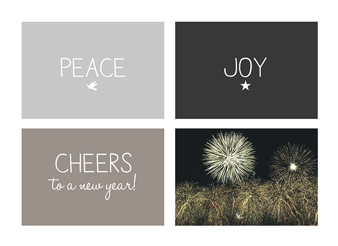 N1502 - Peace Joy & Cheers