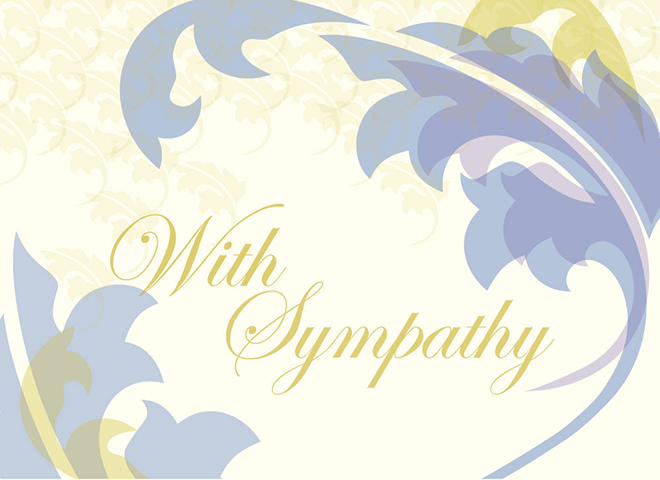 S9001 - With Deepest Sympathy