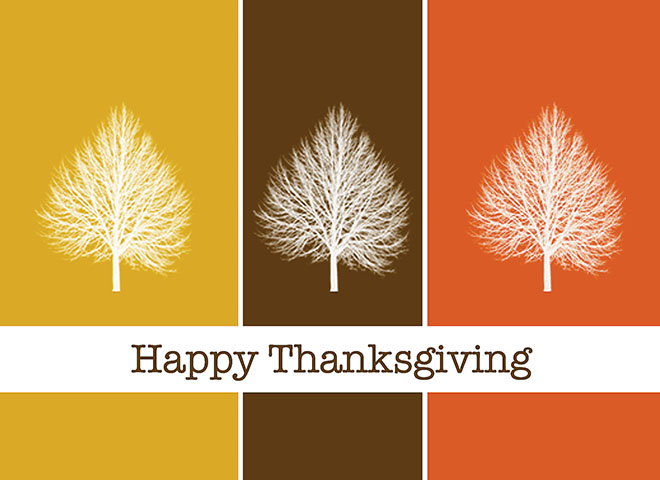TH1505 - Thanksgiving Trees