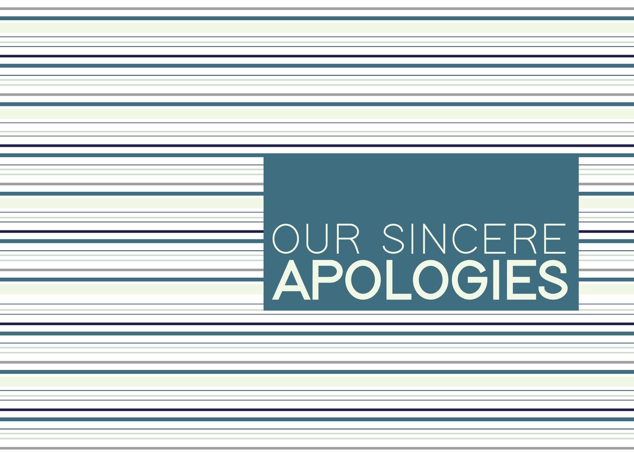 AP1801 - Apology Stripes