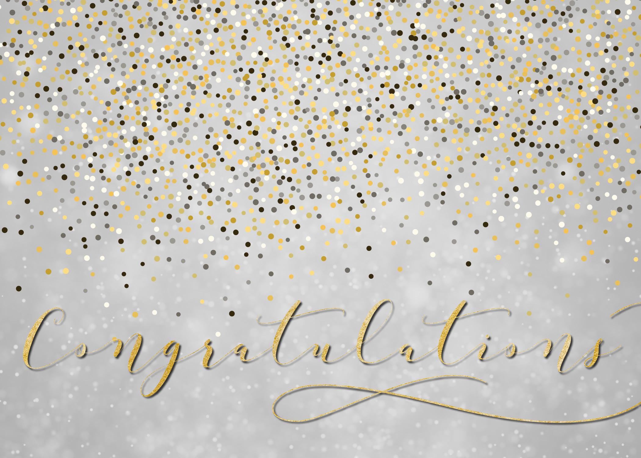 C2002 - Congratulations Confetti