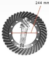 Fuso D10R Gear Set