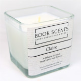 Claire Outlander Scented Candle - fresh delicate fragrance