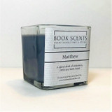 Matthew scented character candle, A Discovery of Witches, All Souls