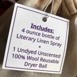 Literary Linen Spray Gift Set - Limited Availability!